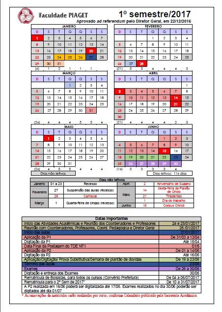 calendario 2017_1 FACPIAGET