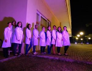 Alunos dos cursos de Saúde da Piaget fazem campanha no Outubro Rosa