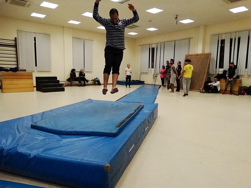 Foto Sala de Praticas  Educacao fisica